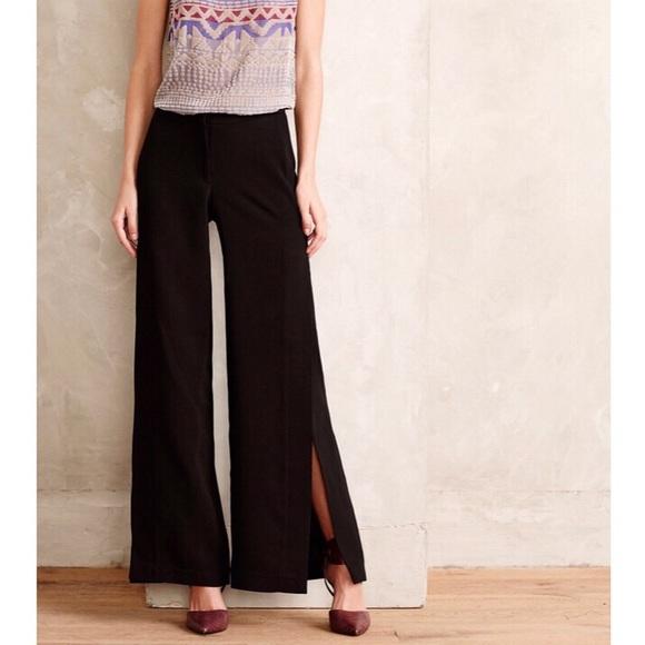 Anthropologie Pants - Anthropologie   Baraschi Slit Maxi Trouser